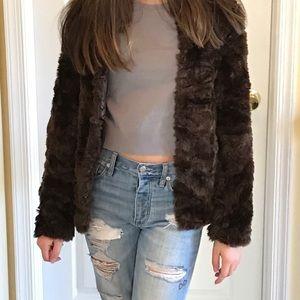 H&M Fur Jacket